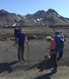 Trail marking on Laugavegurinn (Chris Stone)