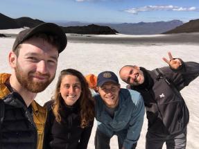 A weekend hike to Magni and Móöi (Colin Peter)