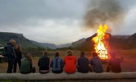 Básar campfire (Harry)