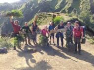 Collecting willow brash for a landscape restoration project (Megan Ramirez)