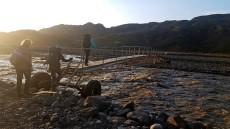 The Krossá footbridge (Sabina Cortés)