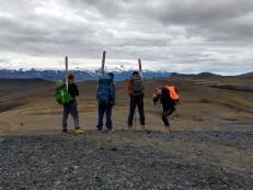 Trail marking team on Laugavegurinn (Shard Milne)