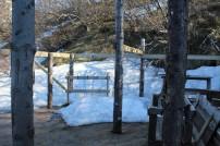 Snow at the Básar camp