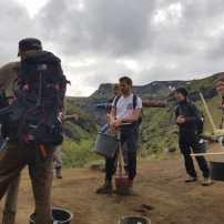 Hiking to work (Michelle Pröstler)