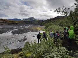 Preparing to cross Þröngá river (Ondřej Kupka)