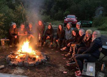 Our campfire at Langidalur (Ellen Halldorson)